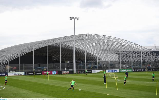 A general view of the FAI National Training Centre in Abbotstown, Dublin. Photo by Stephen McCarthy/Sportsfile