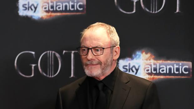 Liam Cunningham attending the Game of Thrones premiere (Liam McBurney/PA)