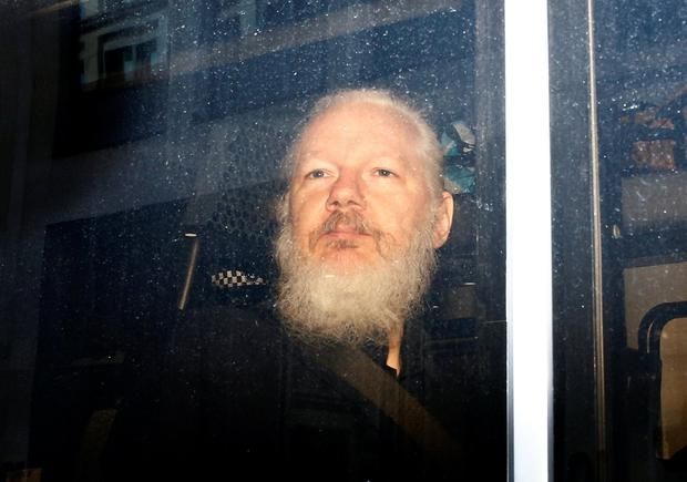 Faces battle in UK courts: WikiLeaks co-founder Julian Assange. Photo: Reuters/Henry Nicholls