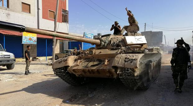 Health fears as Libyans flee from the fighting closing in on capital