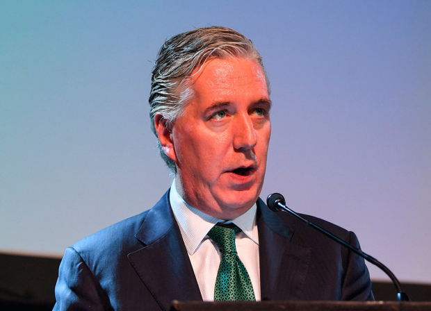 John Delaney, FAI Executive Vice President (March 23rd, 2019). Member UEFA Executive Committee (since 2017). Photo: Stephen McCarthy/Sportsfile