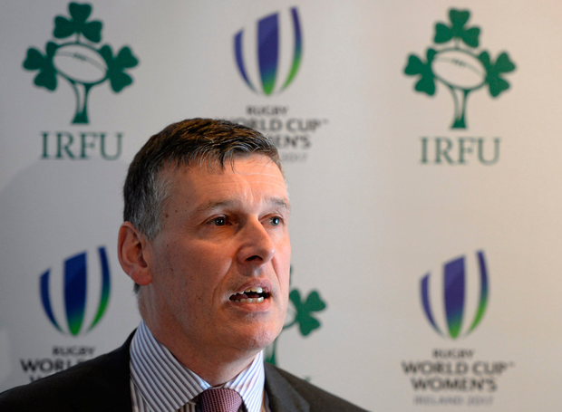 Philip Browne, IRFU CEO 1998-Present. Chairman Aviva Stadium. Photo: Brendan Moran/Sportsfile