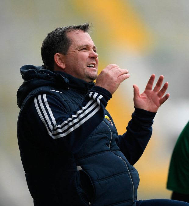 Davy Fitzgerald maintains Wexford's breakthrough is imminent. Photo by Eóin Noonan/Sportsfile