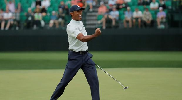 US Masters leaderboard: Tiger Woods looks for third round surge as big guns fight for the lead