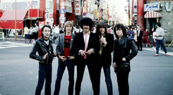 Demons: The Thin Lizzy line-up of Downey, White, Lynott, Gorham and Wharton in 1980