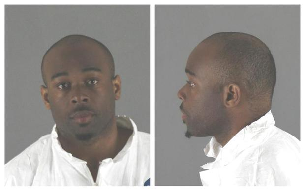 Emmanuel Deshawn Aranda, charged with attempted homicide of a 5-year-old boy thrown or pushed from a third-floor balcony at Minnesota's Mall of America, is seen in this combination photo from police released pictures in Bloomington, Minnesota, U.S., on April 12, 2019. Courtesy City of Bloomington Police Department/Handout via REUTERS