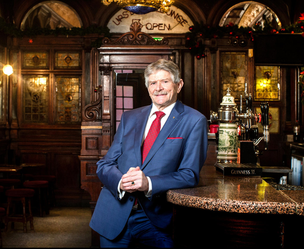 Louis Fitzgerald says 'ordinary publicans' are having insurance problems for the first time. Photo: David Conachy
