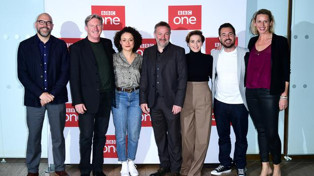 The cast and crew of BBC's Line of Duty (Ian West/PA)