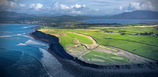 The Hogs Head golf course near Waterville, Co Kerry