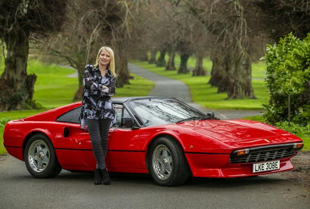 ELECTRIC: Geraldine Herbert and the 308. Photo: Kyran O'Brien