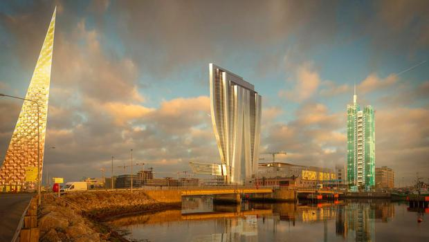 How the docklands could have looked if the three towers had gone ahead