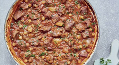 Lamb tagine from Quick Cooking by Mary Berry published by BBC Books at €24