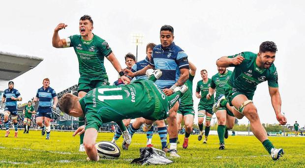 Friend says more to come from Connacht after 'gutsy' display