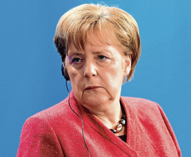 Stepping back: German Chancellor Angela Merkel has told her party's new leader that she will not take part in any future political campaigning, even though it is facing key state elections later in the year. Photo: Adam Berry/Getty Images