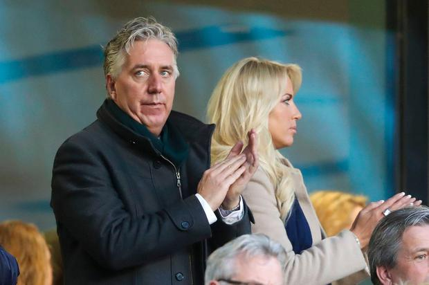 Heading for exit: John Delaney has told friends he has tendered his resignation from his role as FAI executive vice president. Photo: PA