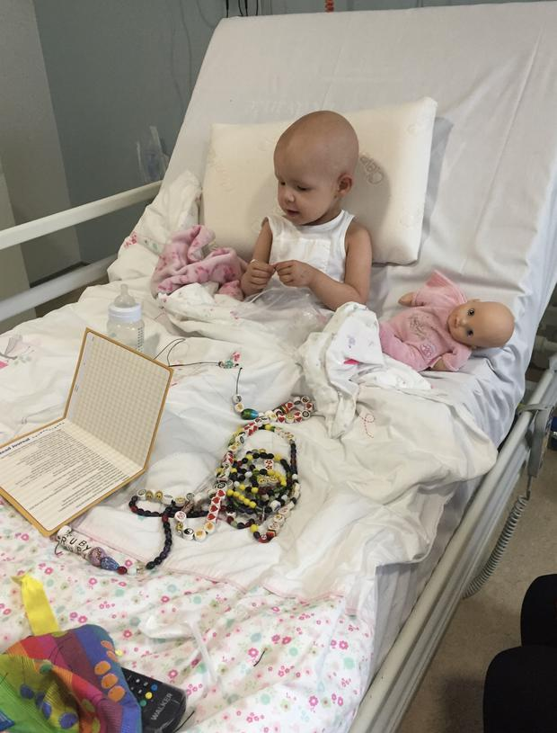 Dublin Mother Yvonne Shannon shares her four-year-old daughter Ruby's journey in Crumlin Hospital when she was diagnosed with a brain tumour