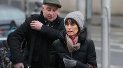 Patrick Quirke arrives at court with wife Imelda. Photo: Damien Eagers/INM