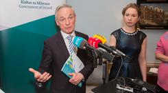 'A significant decision': Minister for Communications Richard Bruton. Photo: Gareth Chaney, Collins