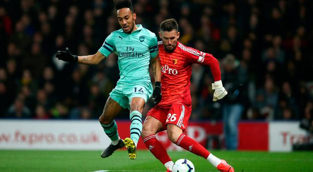 Watford offer up gifts to Gunners as Deeney endures an off day