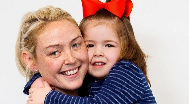 'There's an ouchy in my head': Little Ruby battles brain tumour