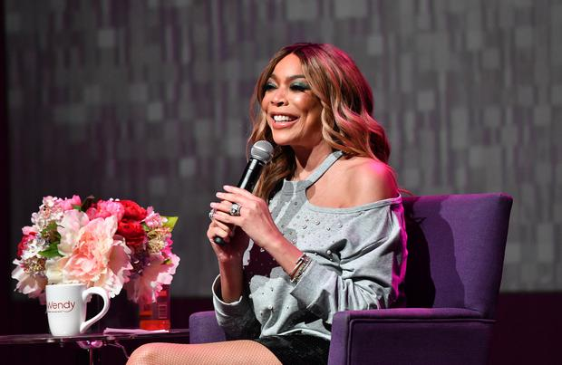 Wendy Williams speaks onstage during her celebration of 10 years of 'The Wendy Williams Show' at The Buckhead Theatre on August 16, 2018 in Atlanta, Georgia. (Photo by Paras Griffin/Getty Images)