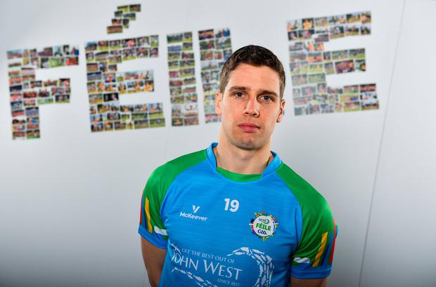Mayo footballer Lee Keegan in attendance at the launch of the 2019 John West Féile at Croke Park in Dublin. Photo: Sam Barnes/Sportsfile