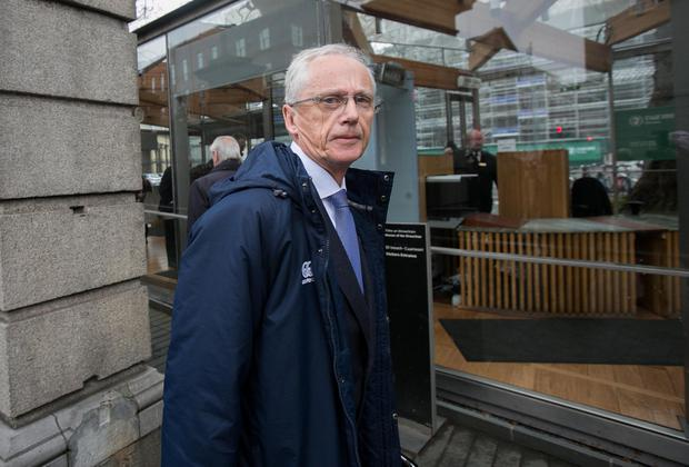 Sport Ireland Chief Executive John Treacy arrives for the Joint Committee on Tranpsort, Tourism & Sport meeting at Leinster House. Photo: Gareth Chaney, Collins
