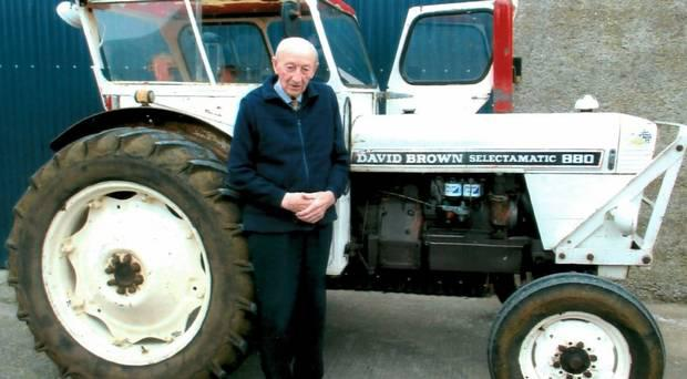 Moy farmer Ben McFarland, who turns 93 soon, paid £865 for the tractor in 1969 and since then it has served the family very well