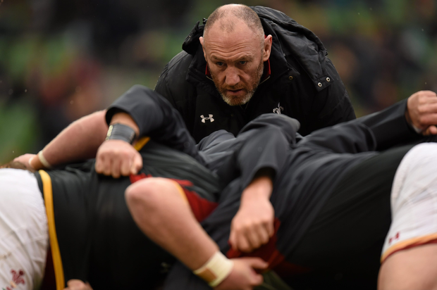 Wales forwards coach Robin McBryde is in line to join Leinster next season. Picture credit: Stephen McCarthy / SPORTSFILE