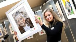 Texaco Children's Art competition. Naoise Hennessy, a 16-year old student from Craanford, near Gorey, has been chosen overall winner of this year's 65th Texaco Children's Art Competition, taking first prize in the senior 16-18 years age category.