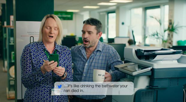 Carlsberg has reacted to consumer distaste for its lager by admitting that it was