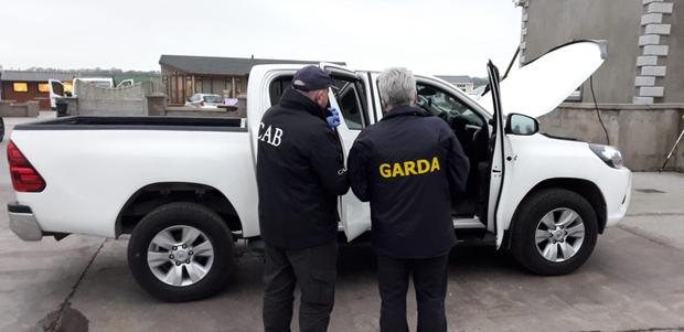 CAB officers during search operation in Cork. Photo: Garda Facebook