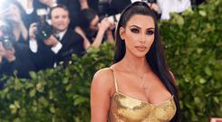 Kim Kardashian at the 2018 Met Gala