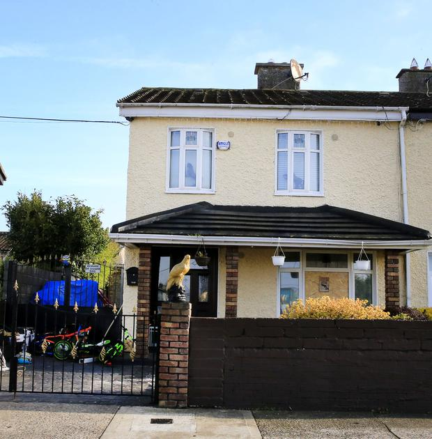 SHOT: The Sheephill Avenue, Corduff, house shot at two hours later
