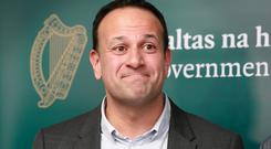 Barrage of criticism: Taoiseach Leo Varadkar has faced growing pressure from the Opposition for answers on the broadband plan. Picture: Frank McGrath