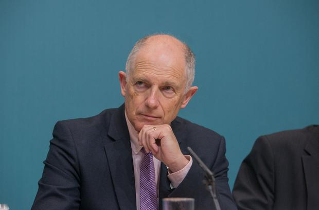 Claim: Junior Justice Minister David Stanton said gambling addiction was primarily a health issue. Picture: Collins