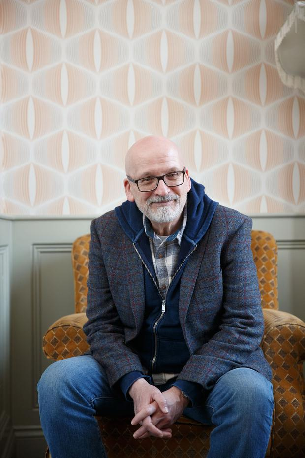 'Funny and optimistic': Roddy Doyle has created an anthology of his 'Charlie Savage' columns for the Irish Independent which is up for an award. Photo: Fran Veale