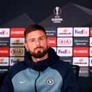 Olivier Giroud has demanded a 'more important role' in order to stay at Chelsea next season. Photo: Ian Walton/PA Wire