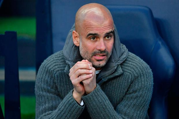Manchester City's Pep Guardiola. Photo: AFP/Getty Images