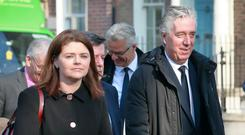 Rea Walshe pictured with John Delaney