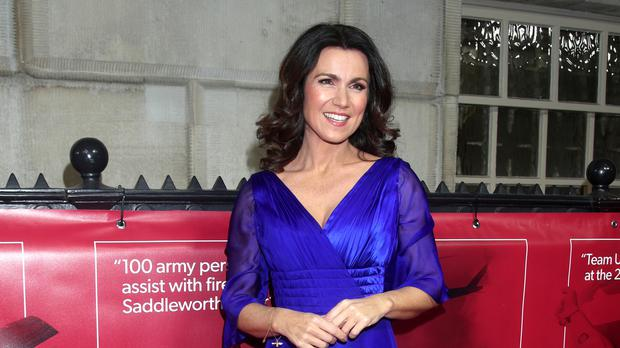 Susanna Reid said she remains on good terms with her former partner (Yui Mok/PA)