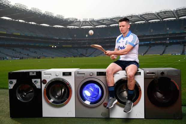 Carlow's Marty Kavanagh, at the launch of the Beko Club Bua programme, feels the county's success is unsustainable unless resources are plough into underage development. Photo: Stephen McCarthy/Sportsfile