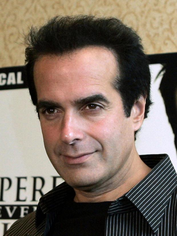 Illusionist David Copperfield