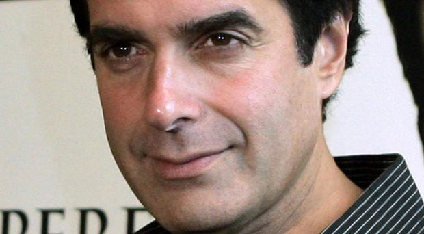Crash can't stop Copperfield's magic landing on the moon