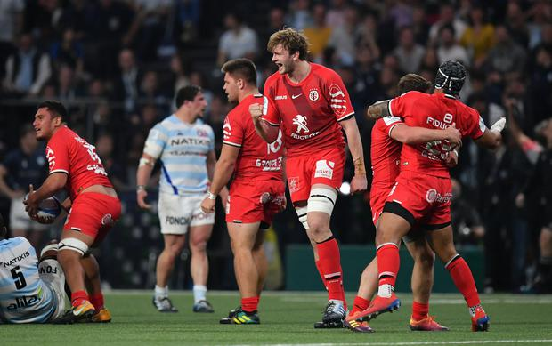 Richie Gray of Toulouse. Photo: Getty