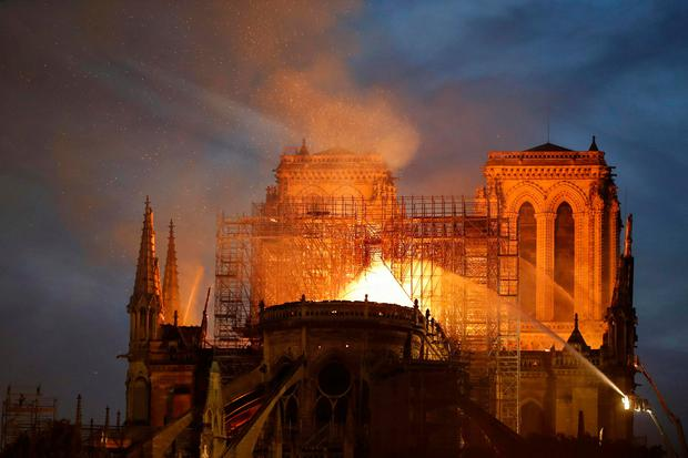 'The catastrophic fire which enveloped Notre-Dame not only made world headlines, it was striking how many people in so many places were personally upset by the sight of this inferno.' Photo: Getty Images