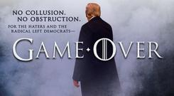 Tweet: Donald Trump posted this image based on 'Game of Thrones'