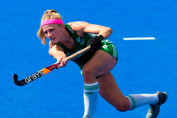 Hannah Matthews is delighted to take on the challenge in Amesterdam. Photo by Craig Mercer/Sportsfile