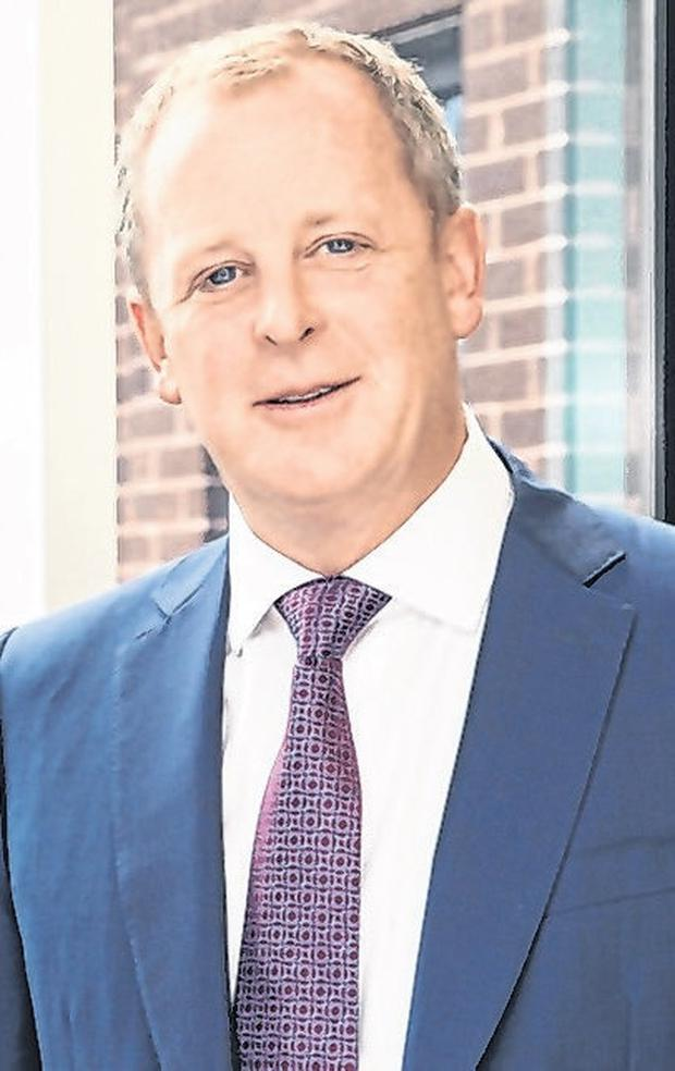 In the money: Cairn Homes chief Michael Stanley. Photo: Naoise Culhane