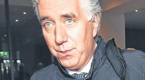 Embattled: John Delaney following a meeting with the FAI. Photo: Steve Humphreys